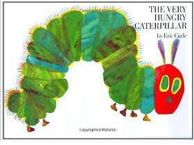 The Very Hungry Caterpillar はらぺこあおむし