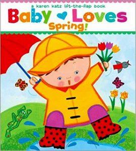 Baby Loves Spring!