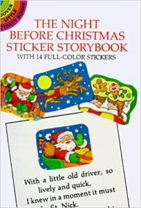 THE NIGHT BEFOE CHRISTMAS STICKER STORYBOOK